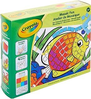 Crayola - Atelier de Mosaïque - Loisir créatif - Kits d'activités - à partir de 4 ans - Jeu de dessin et coloriage