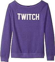 Twitch Ladies Off The Shoulder Sweatshirt