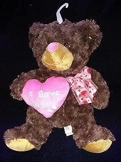 DAN DEE COLLECTORS CHOICE SWEETHEART TEDDY I LOVE YOU BROWN BEAR 13