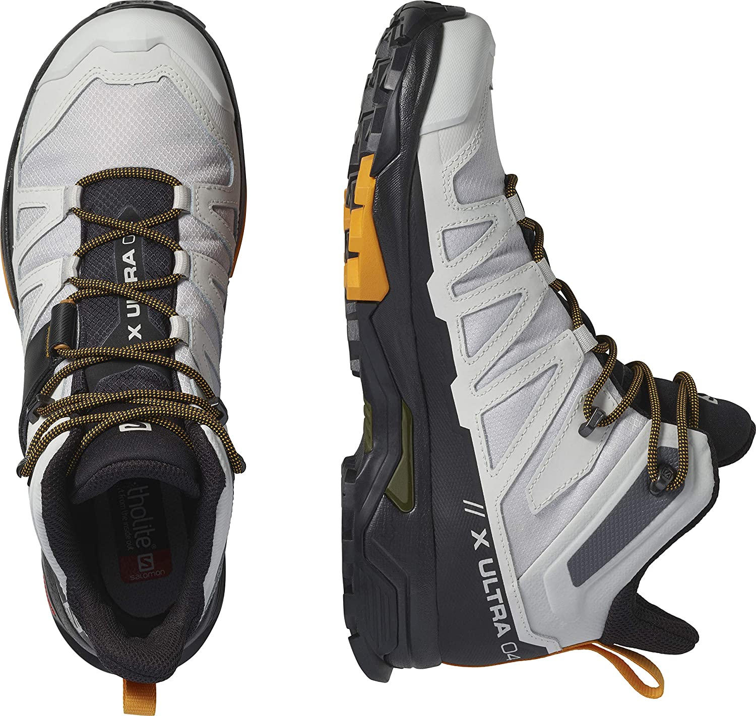 Salomon Mens X Ultra 4 Mid GTX Hiking Shoe