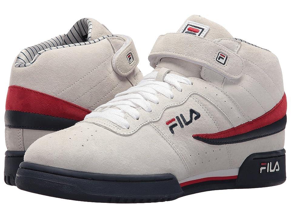 Fila F-13 PS (White/Fila Navy/Fila Red) Men