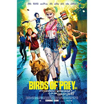 Amazon Com Birds Of Prey 2020 Original Authentic Movie Poster 27x40 Double Sided Rolled Margot Robbie Mary Elizabeth Winstead Jurnee Smolett Bell Ewan Mcgregor Everything Else