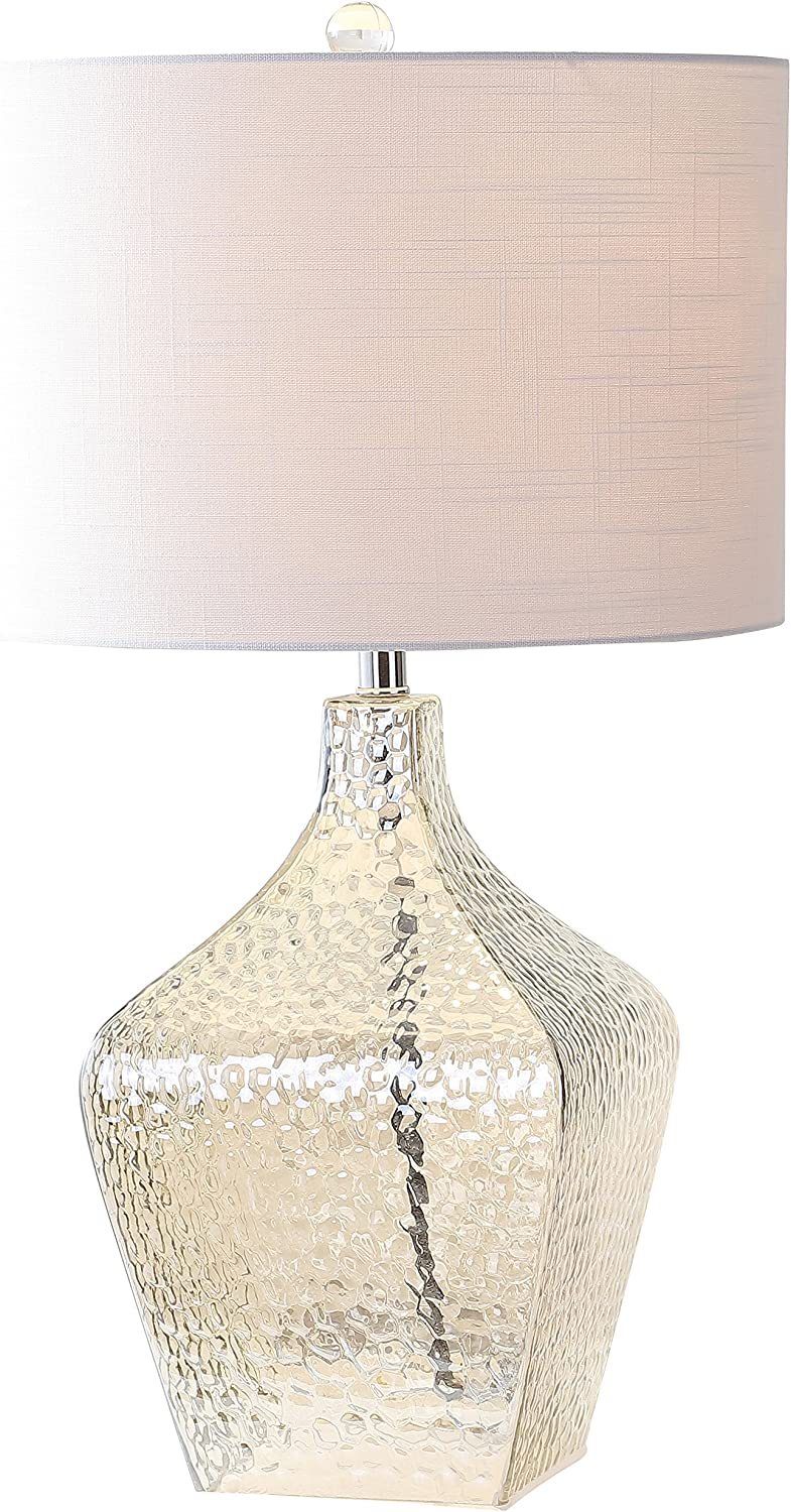 JONATHAN Y JYL5024A Jane 26  Glass Table Lamp, Clear