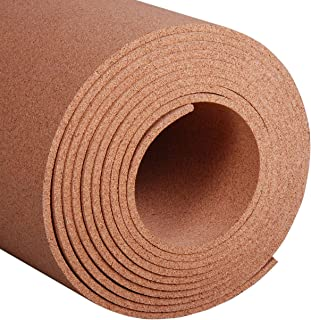Manton Cork Roll, 100% Natural, 4' x 25' x 3/8