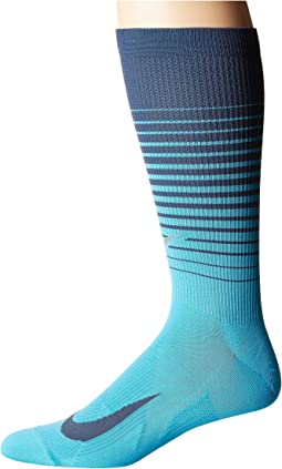 Nike - Elite Lightweight Graphic Crew Running Socks