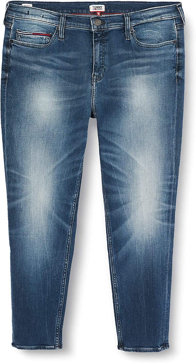 Tommy Hilfiger Nora Mid Rise Skinny Ankle Qnscl Jeans Straight Donna