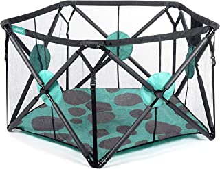 Milliard Playpen Portable Playard with Cushioning for Safety, for Travel, Indoor and..