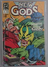New Gods, # No. 4, May 1989, Mantis Goes Mad By Jim Starlin and Paris Cullins & Lewis (Comic - 1989)