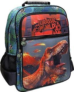 Jurassic World MC-32-JW Mochila adaptable a trolley, Verde