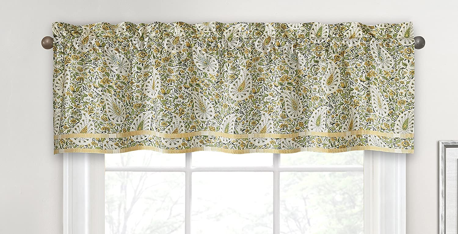 WAVERLY Valances for Windows - low-pricing Paisley Courier shipping free 16