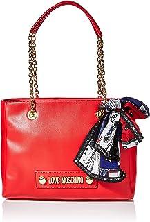 Love Moschino Borsa Small Grain Pu, Tote Donna, 25x33x12 cm (W x H x L)