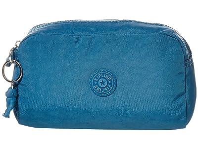 Kipling Gleam Pouch (Mystic Blue) Handbags