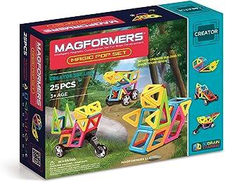 Magformers Creator Magic Pop Set (25-pieces) Magnetic Building Blocks, Educational Magnetic Tiles Kit , Magnetic Construct...