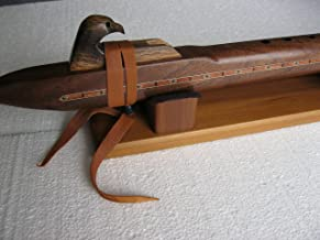 Native American Flute - Solid Walnut Wood - Key of Low D - Hand Made