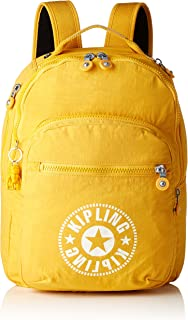24e3d3904 Kipling CLAS SEOUL School Backpack, 45 cm, 25 liters, Yellow (Lively Yellow