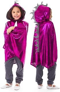 Deluxe Childrens Dragon Cloak Cape Age 3-8