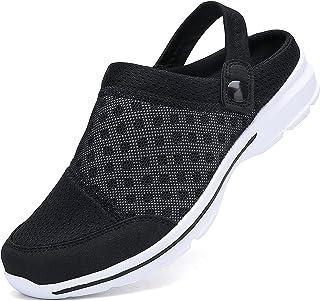Sabots Hommes Chaussures de Jardin Femmes Respirant Sandales de Plage Perforés Légère Pantoufles D'Été Intérieur Extérieur