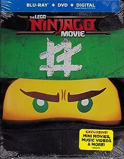 The LEGO NINJAGO Movie (Blu-ray/DVD, 2017, With bonus key chains and digital.