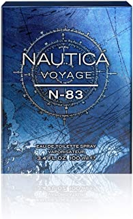 Nautica Eau de Toilette for Men, N-83, 3.4 Ounce