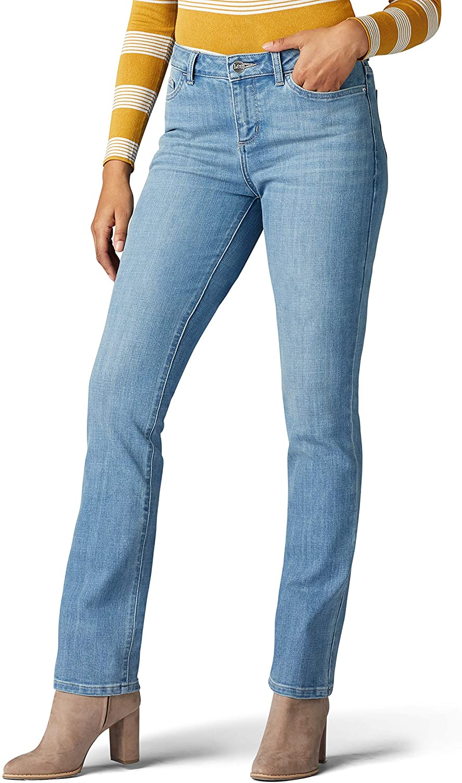 Lee Women's Petite Legendary Super Special SALE held Regular Branded goods Fit Straight Leg Jean
