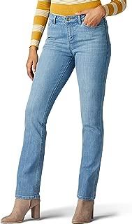 Lee Womens 35206 Iconic Regular Fit Straight Leg Jean Jeans
