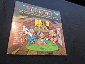 Story and Songs about Walt Disney's 3 Little Pigs: How they Fooled the Big Bad Wolf and The Three Little Wolves and Invented a Wolf Spanking Machine