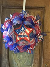 God Bless America, Patriotic, Memorial Day, Labor Day, Fourth of July, Handmade wreaths