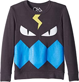 Chaser Kids - Fleece Knit Monster Pullover (Little Kids/Big Kids)