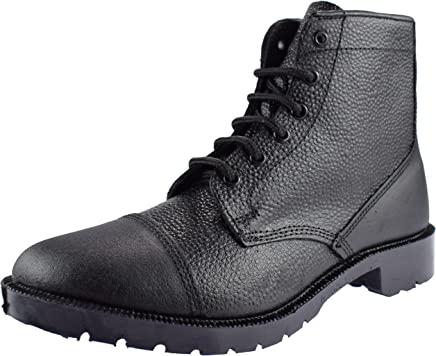 Grafters M391A Mens Cadet Boots In Black