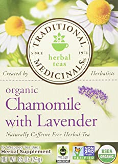Chamomile with Lavender Herbal Tea 16 Bags