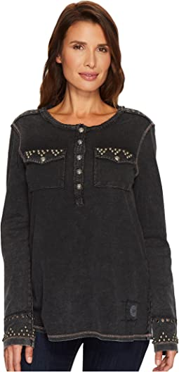 Double D Ranchwear - Gully Washed Henley