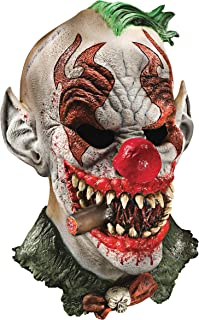 realistic latex clown mask