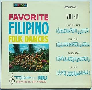 Favorite Filipino Folk Dances, Vol. II (Stereo) / Tony Santos and His Rondalla