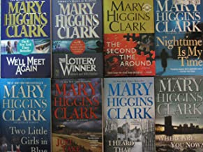 Eight Mary Higgins Clark Paperbacks (The Second Time Around; The Lottery Winner; We'll Meet Again; Where Are You Now; Nigh...