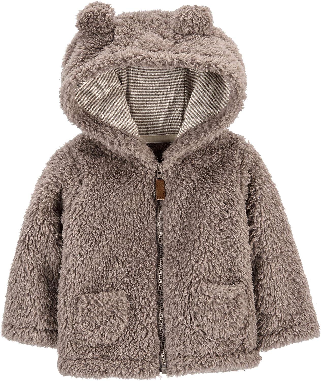 Carter's Baby Girls' Sherpa Jacket (Baby) - Light Pink