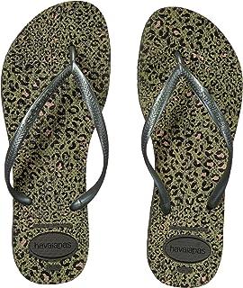 Havaianas Women's Slim Logo Pop-Up Flip Flop Sandal