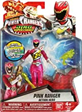 Saban's Power Rangers Dino Super Charge Pink Ranger Translucent Limited Edition Exclusive Figure