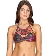 BECCA by Rebecca Virtue - Chakra High Neck Top