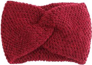 Fantasie Terrene Fascia Headband in Misto Alpaca, più Colori.