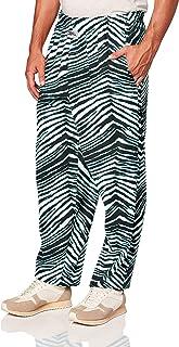 Zubaz Men's Standard Classic Zebra Printed Athletic Lounge Pants Medium Multi