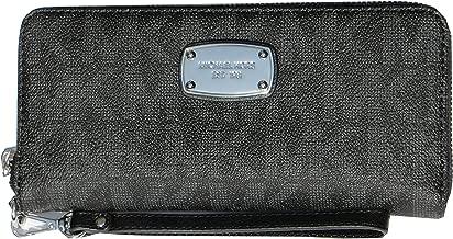 Michael Kors Jet Set Travel Zip Around Travel Wallet Wristlet