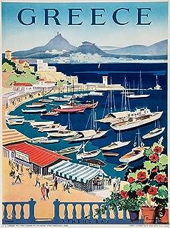 Best santorini vintage poster Reviews