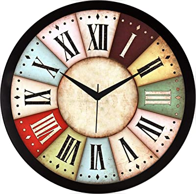 RAG28 11.75 Inches Designer Wall Clock for Home/Living Room/Bedroom/Kitchen (9233)