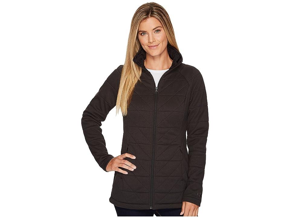 The North Face Knit Stitch Fleece Jacket (TNF Black) Women