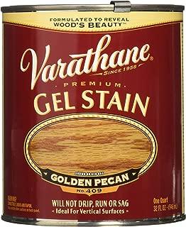 Varathane 224454H Premium Gel Stain, Quart, Golden Pecan