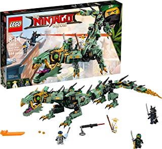 LEGO NINJAGO Movie Green Ninja Mech Dragon 70612 Ninja Toy with Dragon Figurine Building Kit (544 Pieces)