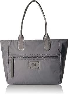 Ivy Nylon Zip Tote Handbag