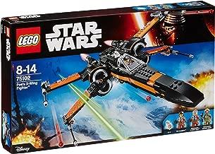 LEGO Star Wars - Poe's X-Wing Fighter, Juguete de Construcción de Nave Espacial de la Saga de la Guerra de las Galaxias (75102)