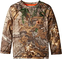 Carhartt Kids - Force Camo Raglan Tee (Toddler/Little Kids)