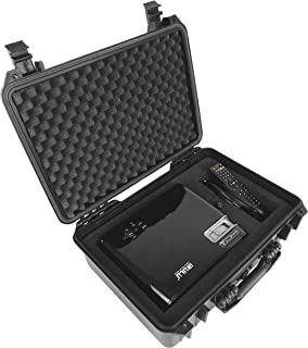 DROPSAFE Hard Carrying Case for iRulu P4, Tenker, ColoFocus Home Cinema Theater Video Projector w/Dense Foam - Fits Projec...